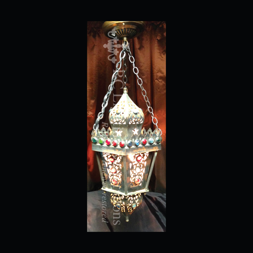 Egyptian Lantern Electrified